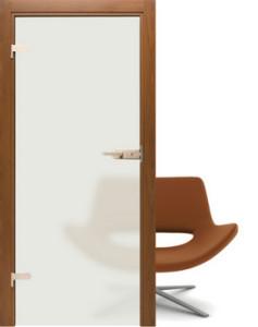 Drzwi szklane Interdoor matowe