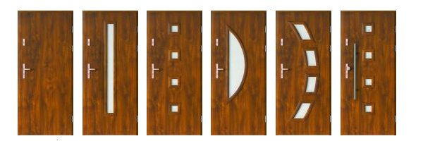Drzwi wejściowe PORTA ROMA Wzory