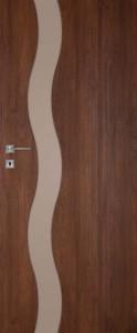 Drzwi DRE Vetro F1 brązowe