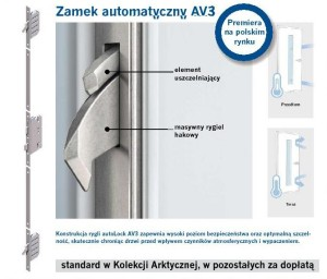 CAL - ZAMEK AUTOMATYCZNY AV3