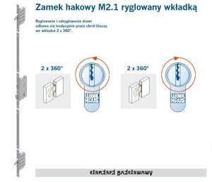 CAL - ZAMEK HAKOWY M2.1