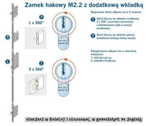 CAL - ZAMEK HAKOWY M2.2